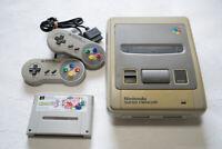 Nintendo Super Famicom Console 2 controllers tested + Kirby3 NTSC-J Japan