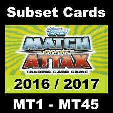 Match Attax 2016/17 16/17 Premier League CLUB HERO / RISING STAR / INTERNATIONAL
