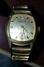 Benrus model 21 10K rolled Gold plate 17 J wrist watch