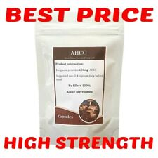 AHCC 600mg Capsules,Active Hexose Correlated Compound,UK Seller,Not Tablets