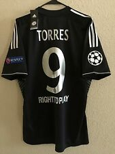 England Chelsea Torres Atletico Player Issue Formotion Shirt Football Jersey