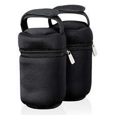 Tommee Tippee Closer To Nature Insulated Travel Bottle Carriers Warmer Bags X 2