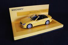 "Minichamps Mercedes-Benz SL-Class 1:43 ""Linea giallo"" (JS)"