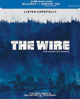 The Wire - The Complete Series (Blu-ray Disc, 2015, 20-Disc Set BRAND NEW SEALED