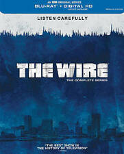 The Wire  The Complete Series Blu-ray 20-Disc Set 2015 Idris Elba West Lance NEW