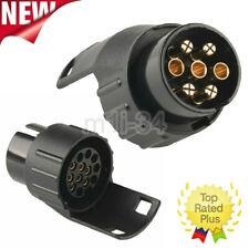 7 to 13 Pin Plug Trailer Truck Electric Adapter Towbar Towing Socket Waterproof