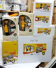 Miniatures Mimo Cafe De Mimo Shop + Accessory + Food Box Set  ,  hok