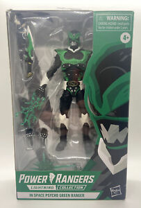 POWER RANGERS LIGHTNING COLLECTION IN SPACE PSYCHO GREEN RANGER EXCLUSIVE DMG BX