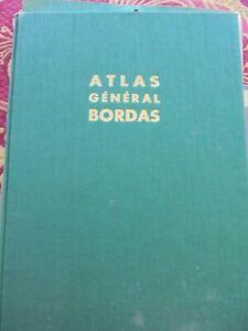 ATLAS GENERAL BORDAS - France et Monde - 1964