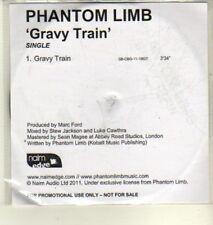 (CW368) Phantom Limb, Gravy Train - 2011 DJ CD