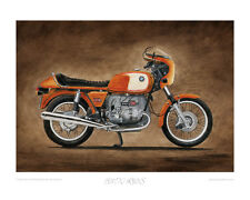 Motorcycle Limited Edition Print - BMW R90S