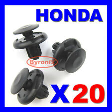 HONDA CIVIC Crea accordo wheel Arch interno Fodera Paraurti Splashguard Trim Clip 20