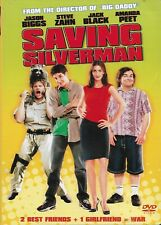 Saving Silverman (Dvd, 2001, Ws) Stars Jack Black & Jason Biggs! ShipsFree!