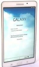 Samsung Galaxy Tab 4 SM-T230 8GB, Wi-Fi, 7in - White  01-3D