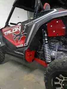 aluminum mud guards rear guard  splash Honda 1000R 1000 R 1000x  Talon