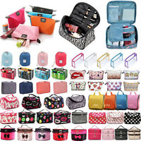 Ladies Women Travel Organizer Toiletry Beauty Cosmetic Makeup Bag Cases Pouch