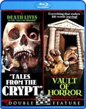 TALES FROM THE CRYPT + VAULT OF HORROR New Sealed Blu-ray Double Feature