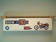 BMW R90S BANNER Motorcycle classic show Workshop Display 900cc