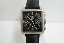 Tag Heuer Monaco CW2111 Automatic Chronograph Stainless Steel Watch (please read