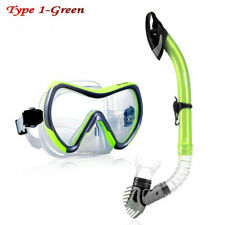 Dive Mask Swimming Underwater Diving Snorkel For Glass Anti-Fog Green 2021 Heat