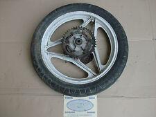 Ruota cerchio posteriore completa Cagiva aletta oro 125 dell'anno 1986