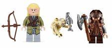 LEGO® Set of 3 Minifigs Gimli Legolas & Gollum - Lord of the Rings