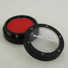 MANIC PANIC Pressed Powder Eye Shadow Blush Matte VAMPIRE RED Goth Punk Vamp NEW
