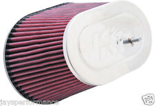 KN UNIVERSEL D'AIR FILTER (RC-5047) OVALE FLG, L 203MM X 143MM W BO, 158 MM TOL