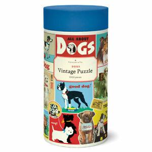 Cavallini 1000pc Jigsaw Puzzle ~  Vintage Dog