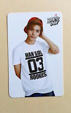 COEX Artium SUM Official SM Rookies Show Photo Card Photocard - HanSol (Glossy)