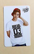 SM TOWN COEX Artium SUM Official SM Rookies Show Photo Card Photocard - HanSol