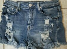 Almost Famous Short Shorts Size 3 *distressed* Free Shipping