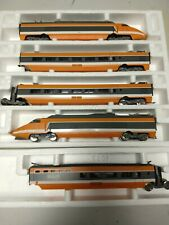 HO TGV Lima Golden Series set with extra matching intermediate bar coach in box