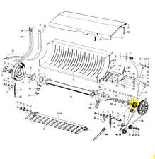 Mengele Ladewagen  Ersatzteile Quadro 25Messer 3Rechen Buchse 98-029024