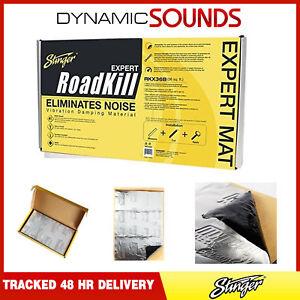 "Stinger Roadkill Car Sound Deadening Dynamat Mat Material - 18""x 32"""