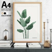 """Modern A4 8x12"""" Hanging Photo Frame Shell Poster Freestanding Picture Frames"""