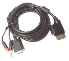 RCA Audio VGA Male to Xbox 360 Game Console Cable Cord 9FT