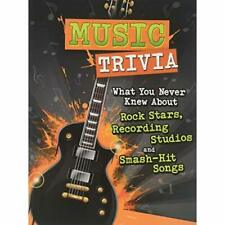Music Trivia: What You Never Knew About Rock Stars, Rec - Paperback / softback N