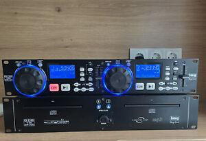 IMG Stageline CD-230 DJ Doppel CD MP3 Player Spieler Dual CDJ TOP