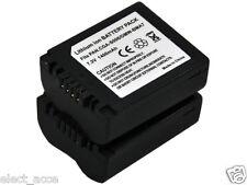 2x CGA-S006 S006E Battery for Panasonic DMC-FZ7 DMC-FZ8 DMC-FZ18 DMC-FZ28 FZ30