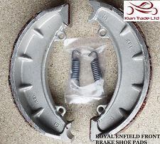 Moto ROYAL ENFIELD BULLET PIECE DE RECHANGE AVANT mâchoire de frein paire