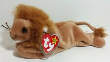 "TY Beanie Babies ""ROARY"" the LION Cat - MWMTs! PERFECT GIFT! RETIRED & MINT!"