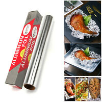 10Metres Heavy Duty Aluminum Foil Food Wrap Roll BBQ Baking Cook Foil Food Roll