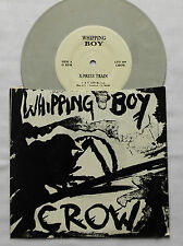 "WHIPPING BOY Crow - USA grey vinyl 7"" 45  CFY Records (1986) punk garage EX/NM"