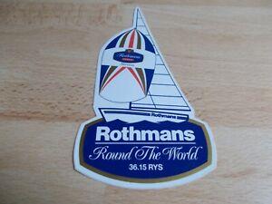 Aufkleber TONI MANG Weltmeister 1987 250ccm Rothmans Honda NSR Motorrad-Sport