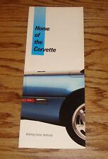 Original 1986 Chevrolet Home of the Corvette Sales Brochure 86 Bowling Green KY