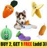 Dog Chew Puppy Play Toy Squeaky Christmas Gift Soft Plush / Watermelon / Bone /