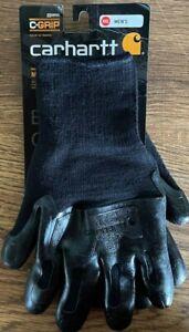 Carhartt A604 Men's Winter Thermal Rubber Grip - BLK - XXL