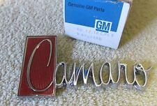 *NOS 1971-73 Chevy Camaro Z28 RS SS Deck Lid Trunk Name Badge Emblem GM 8707740