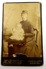 1880s Victorian Cabinet Card Photograph by H Willett of Bristol MORE AVAILABLE